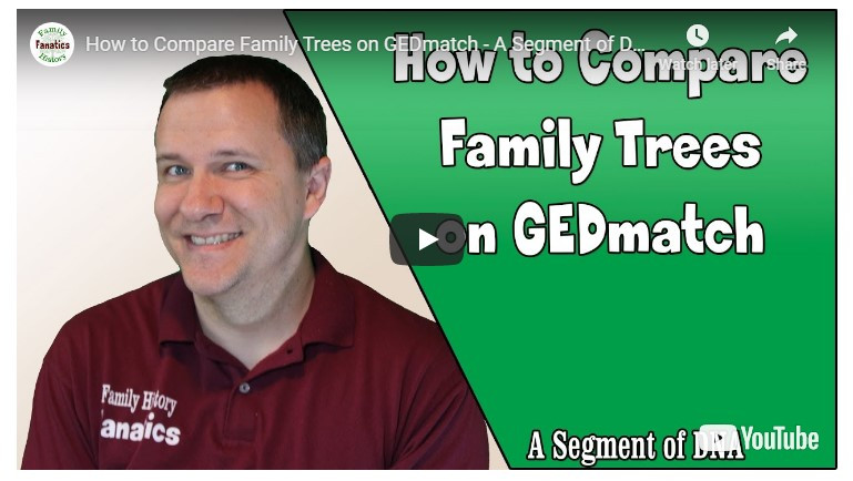 VIDEO How to Compare Family Trees on GEDMatch