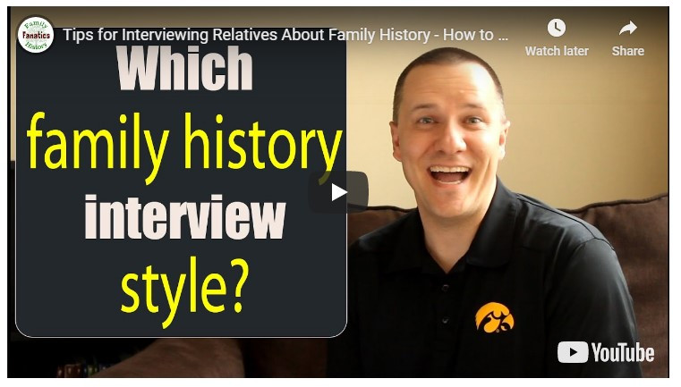 Video: Which family history interview style?
