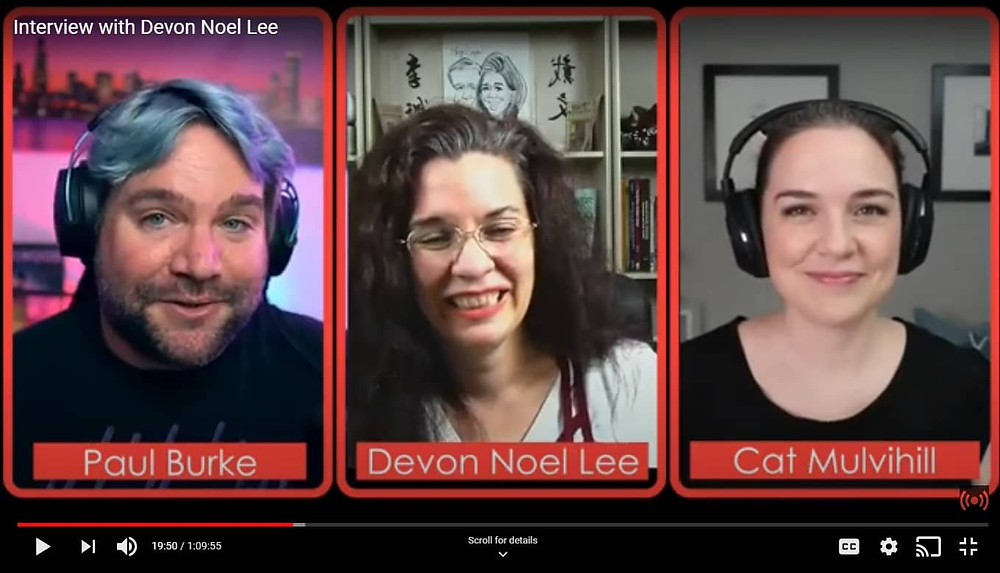 Paul Burke, Devon Noe Lee and Cat Mulvihill talk about livestreaming