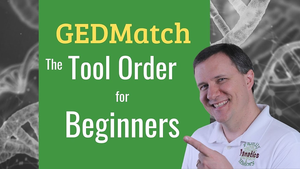 Video: Gedmatch the tool order for beginners