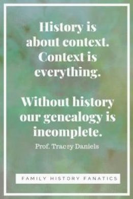Without history, our genealogy is incomplete #genealogy #writing #familyhistoryfanatics