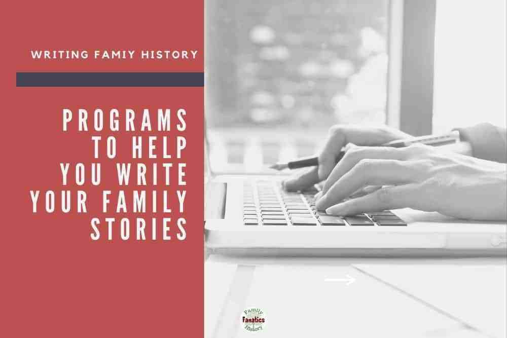 hands typing on keyboard for programs to help you write your family stories