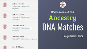 How Can You Download Your AncestryDNA Shared Matches?