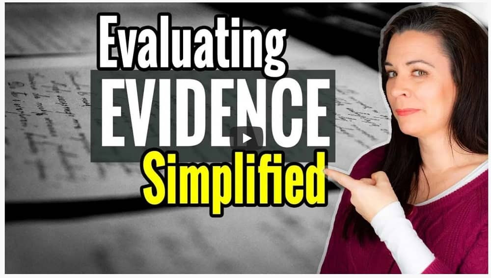 VIDEO: How to evaluate genealogy evidence when climbing your family tree