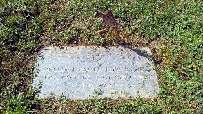 Civil War Veteran William James Townsend