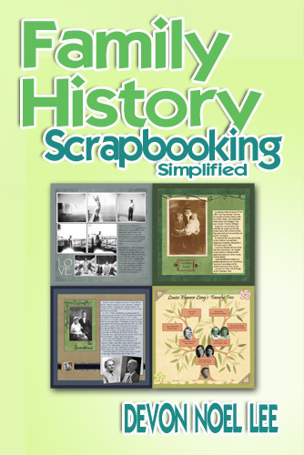 Book cover for Family History  Scrapbooking Simplified