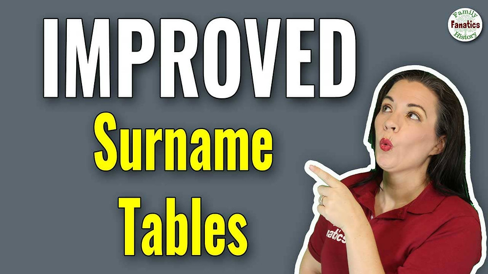 Devon Noel Lee excited about surname tables