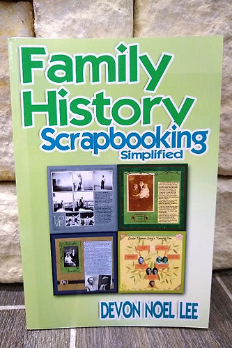Family History Scrapbook Wall