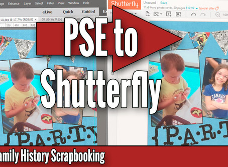 How to Export a File from PSE and Upload It to Shutterfly