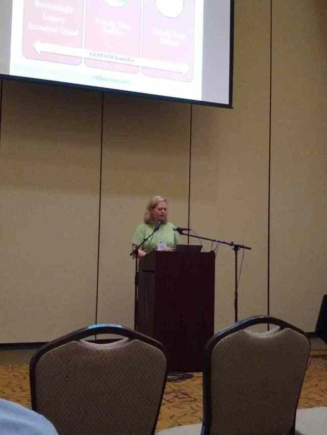 Janet Hovorka at the OGS Conference