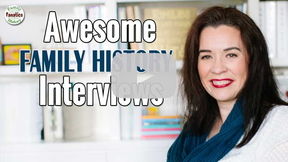 video Awesome Family History Interviews  with Devon Noel Lee