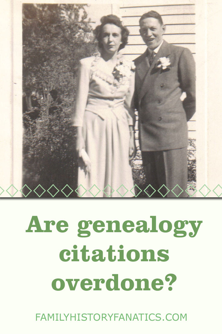 diction page focused on citations with title are genealogy citations overdone