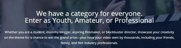 RootsTech Film Fest Categories