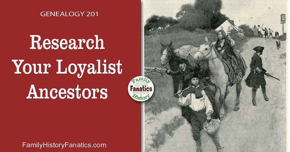 Canadian Loyalist with title research Loyalist Ancestors