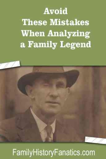 Photo of Henry Townley with caption evaluate family legends