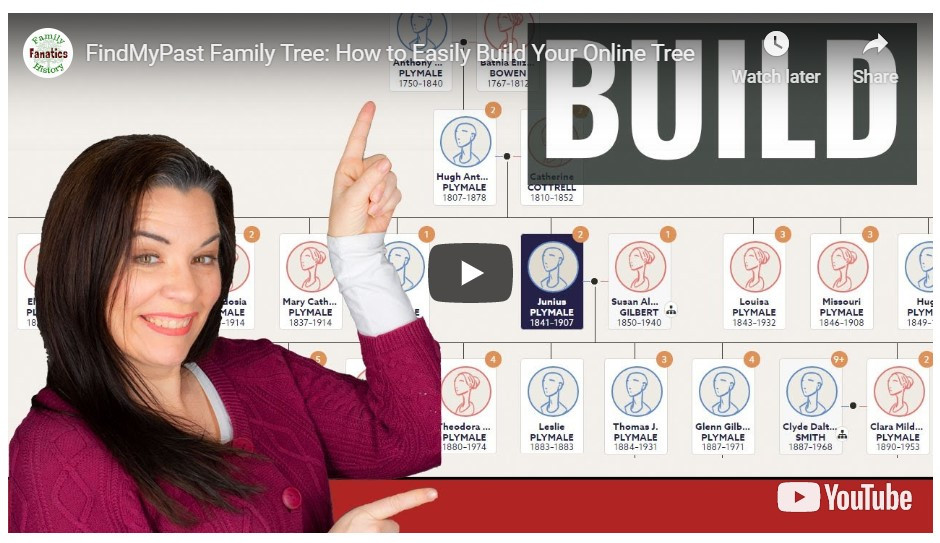 VIDEO: How to build your family tree on Findmypast