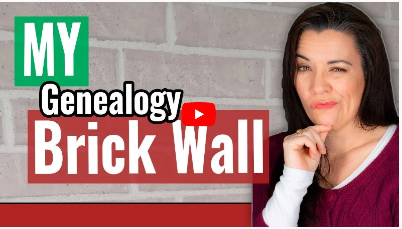 VIDEO: My Genealogy Brick Wall named John Townley