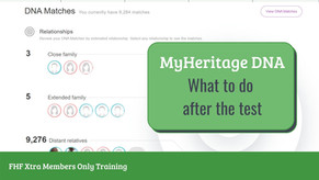 What to do with MyHeritage AutoClusters? -  Webinar