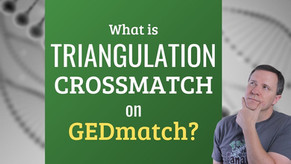 What is a DNA Triangulation Cross Match on GEDmatch?