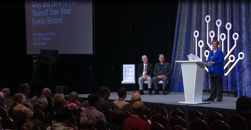RootsTech Power Hour featuring Amy Johnson Crow, Scott Fisher, Curt Witcher.
