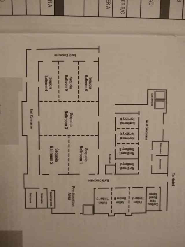 OGS Conference Map