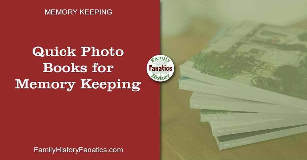 Quick photos books to capture your memories