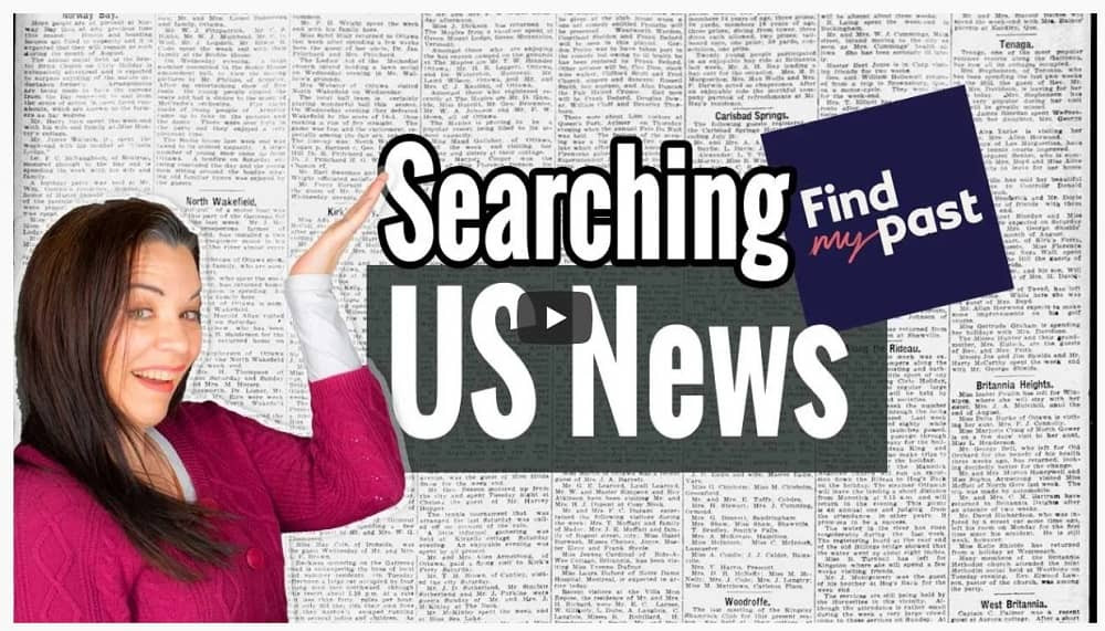 VIDEO: The Basics of Researching FindMyPast's Newspaper Collection