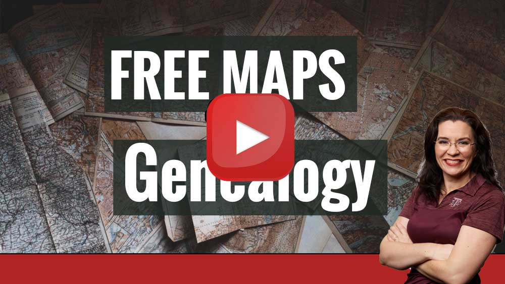 Tutorial: Finding free maps for genealogy