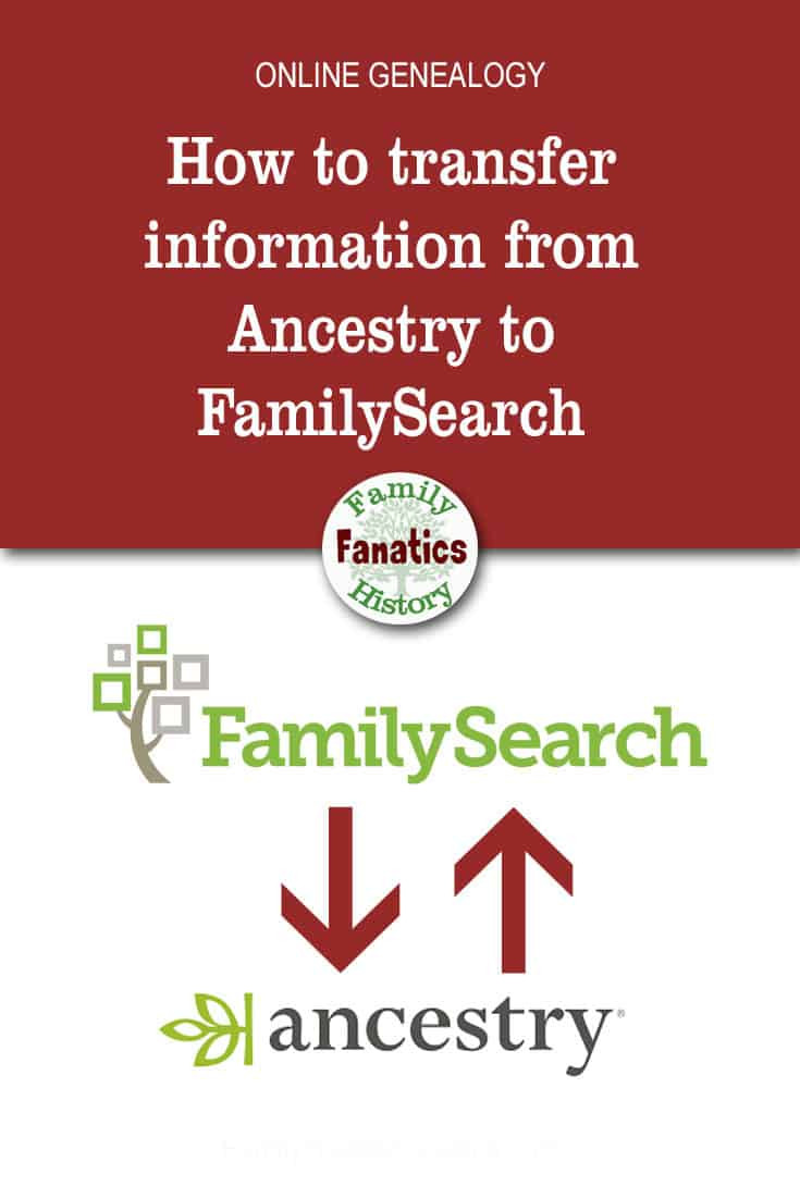 Learn the steps that will simplify the process of transferring your genealogy data between FamilySearch and Ancestry using RootsMagic. #organization #genealogy #ancestors