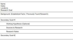 My Genealogy Research Plan: The John Townley Case Study