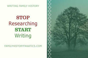 3 Reasons to Stop Researching and Start Writing
