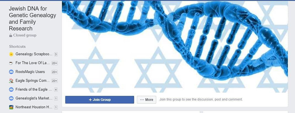 Join the Jewish DNA for Genetic Genealogy and Family Research