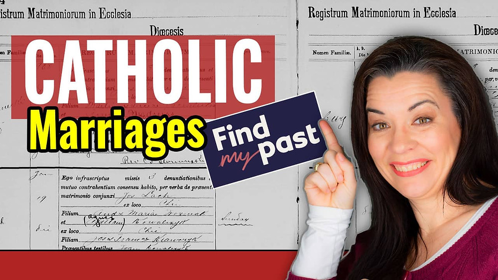 Video: Findmypast Catholic Marriage Records