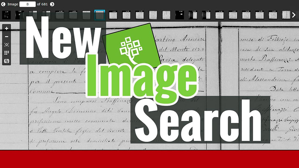 FamilySearch historical image with title new image search