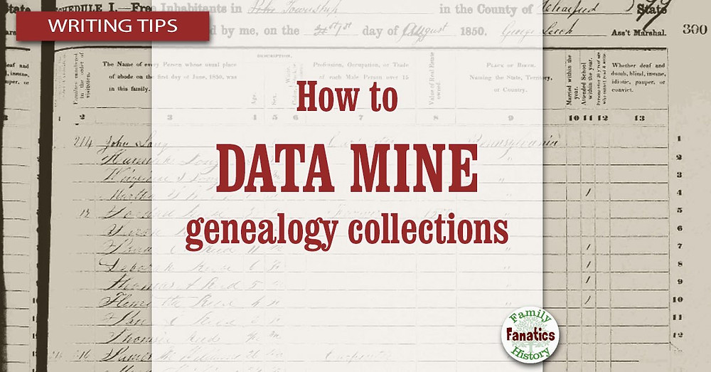 Census record with title how to data mind genealogy collections