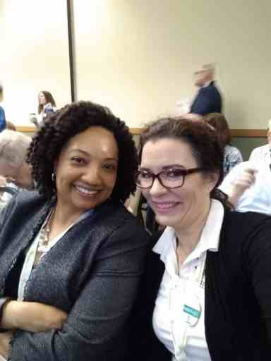 Ari Wilkins and Devon Noel Lee at the OGS Conference