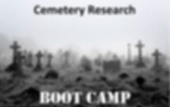 Cemetery Research Webinar