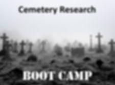 Cemetery Research webinar