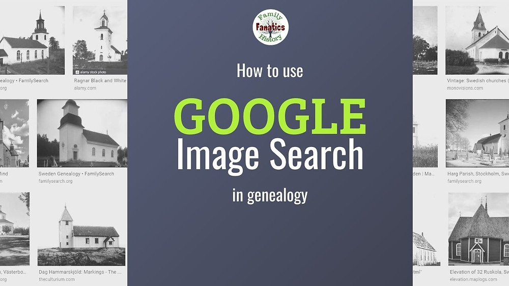 Google image search in genealogy for Swedish church