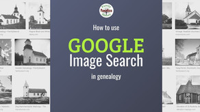 Easy Google Image Searches for Genealogy Research