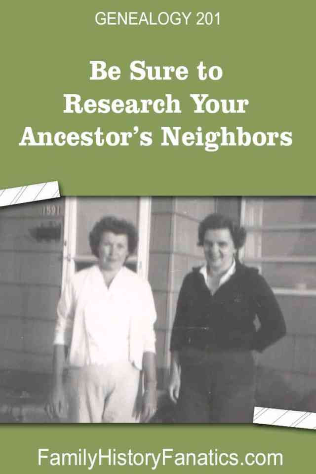 Try this genealogy hack = search for neighbors! Just like I did. #genealogy #brickwall #researchtips