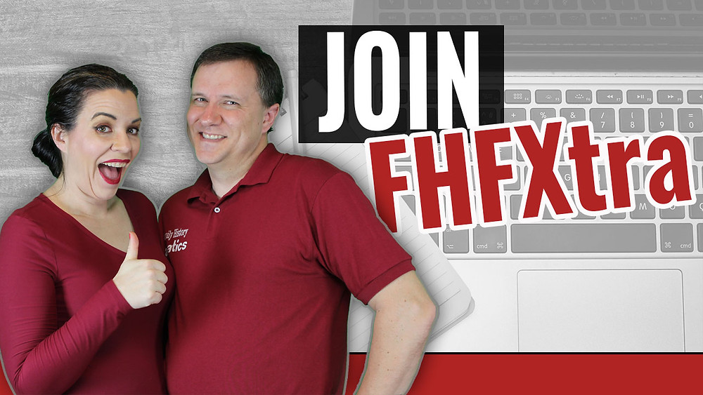 ndy and Devon Lee invite you to join the FHFXtra Genealogy Premium Membership