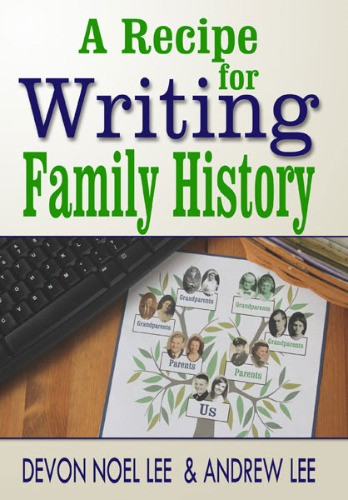 Book cover for A Recipe for Writing Family History