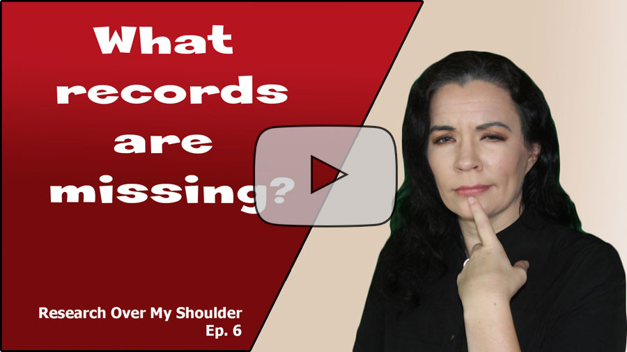 video: Which Easy Records Am I Missing in My Genealogy Research?
