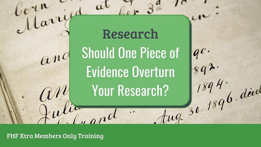 Webinar: What to do when a piece of evidence threatens your research
