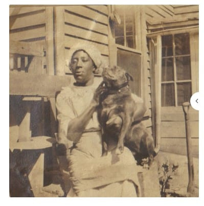 Original photo of a mystery black woman who knew Evaline Peak's family.