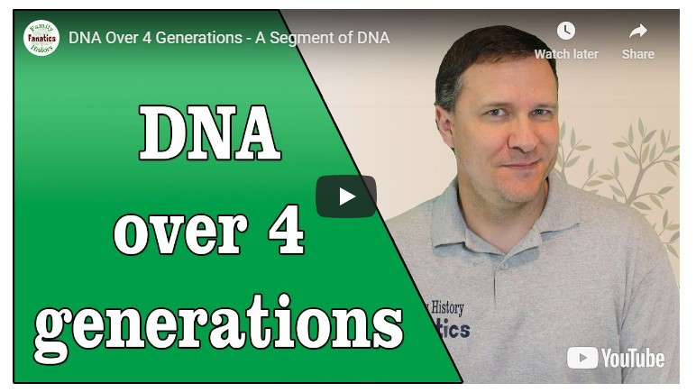VIDEO: How DNA passes down through four generations