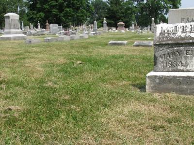 Smith family plot in Green Lawn Cemetery in Columbus, Ohio