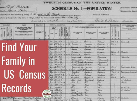 US Census Records - How to Research on FamilySearch and Ancestry