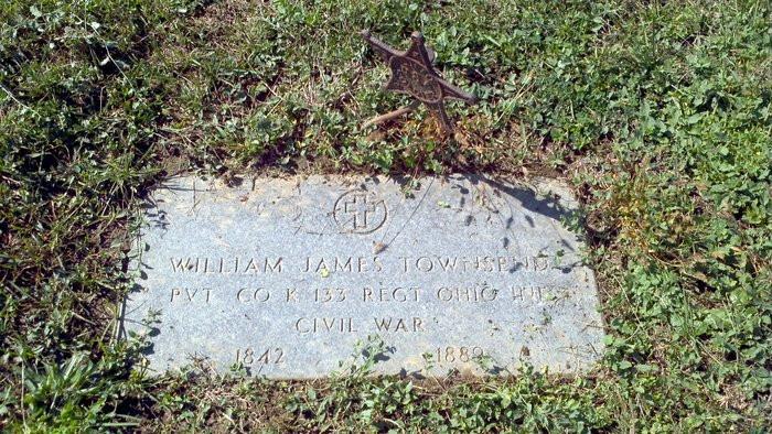Graveston for William James Townsend